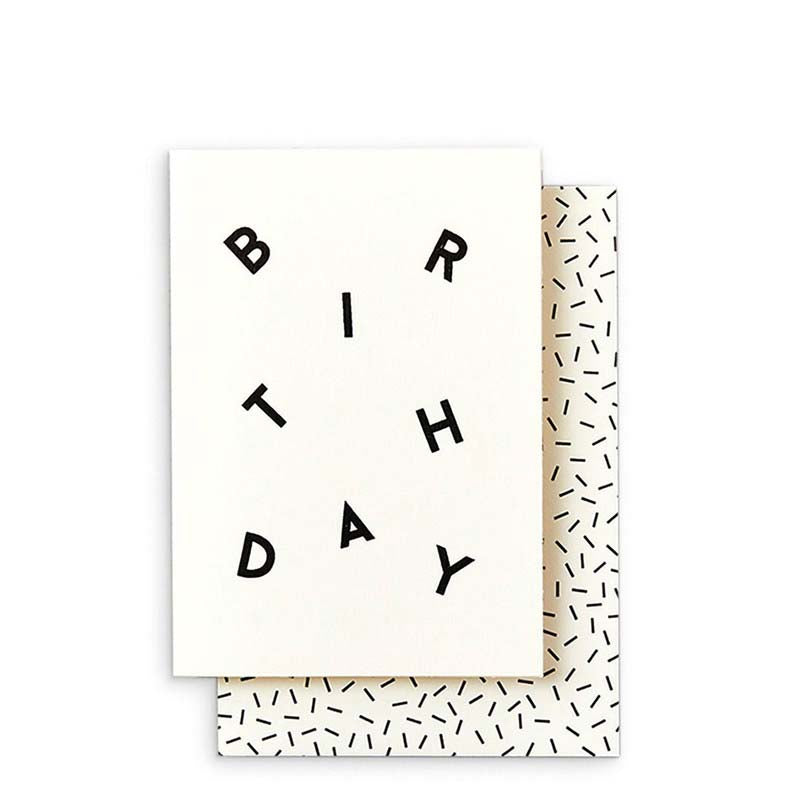 Katie Leamon Birthday Scatter Card