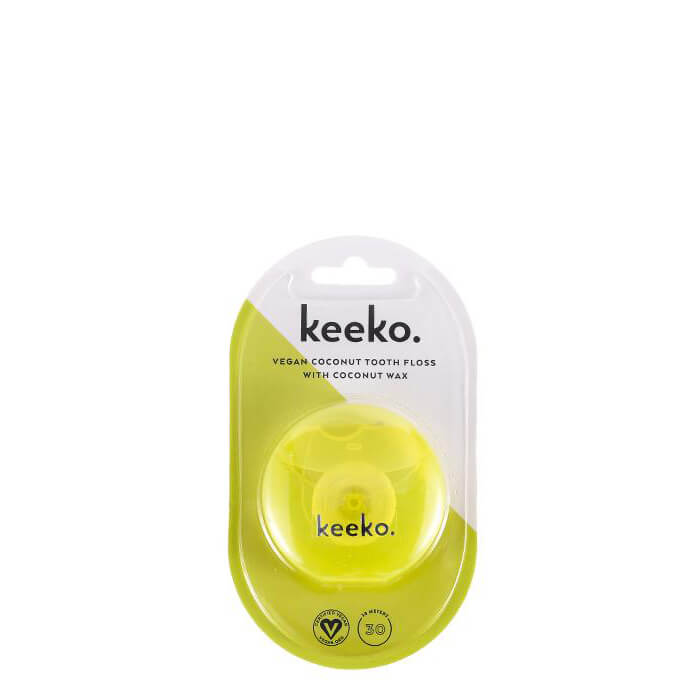 Keeko Vegan Coconut Wax Tooth Floss - Natural Supply Co