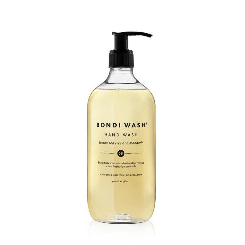 Bondi Wash Lemon Tea Tree & Mandarin Hand Wash 500ml - Natural Supply Co