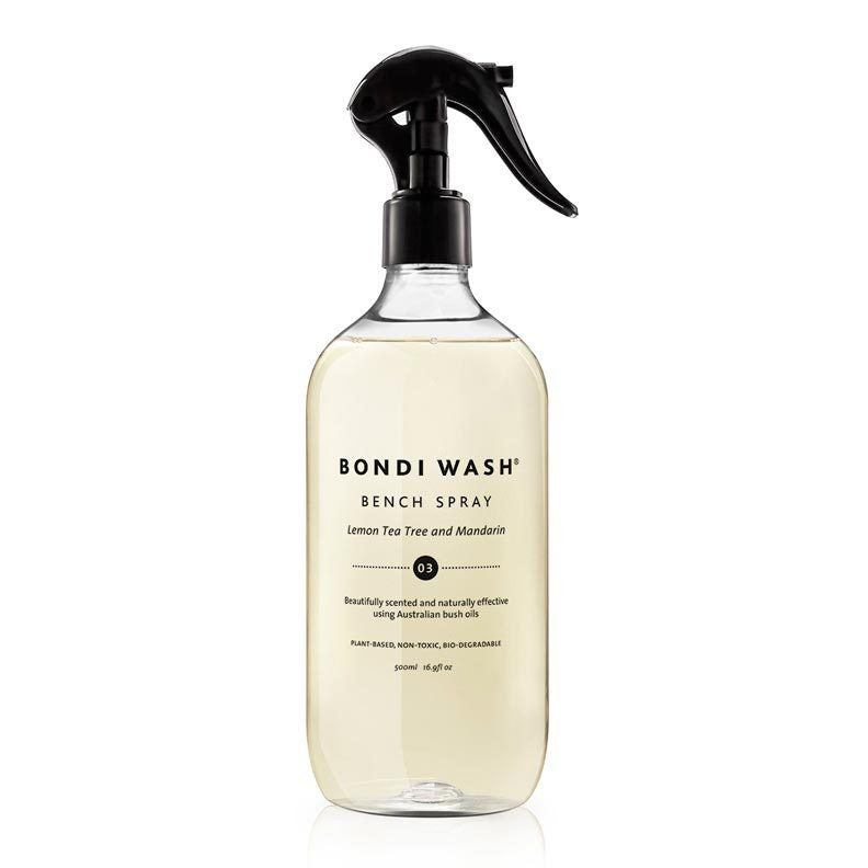 Bondi Wash Lemon Tea Tree & Mandarin Bench Spray 500ml - Natural Supply Co