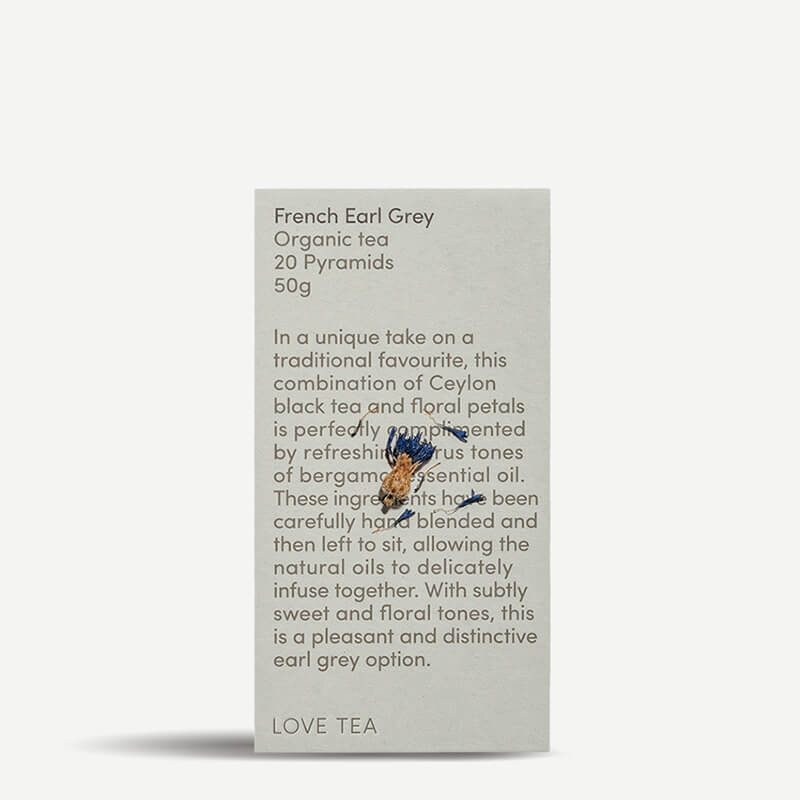 Love Tea French Earl Grey Tea Pyramids - Natural Supply Co