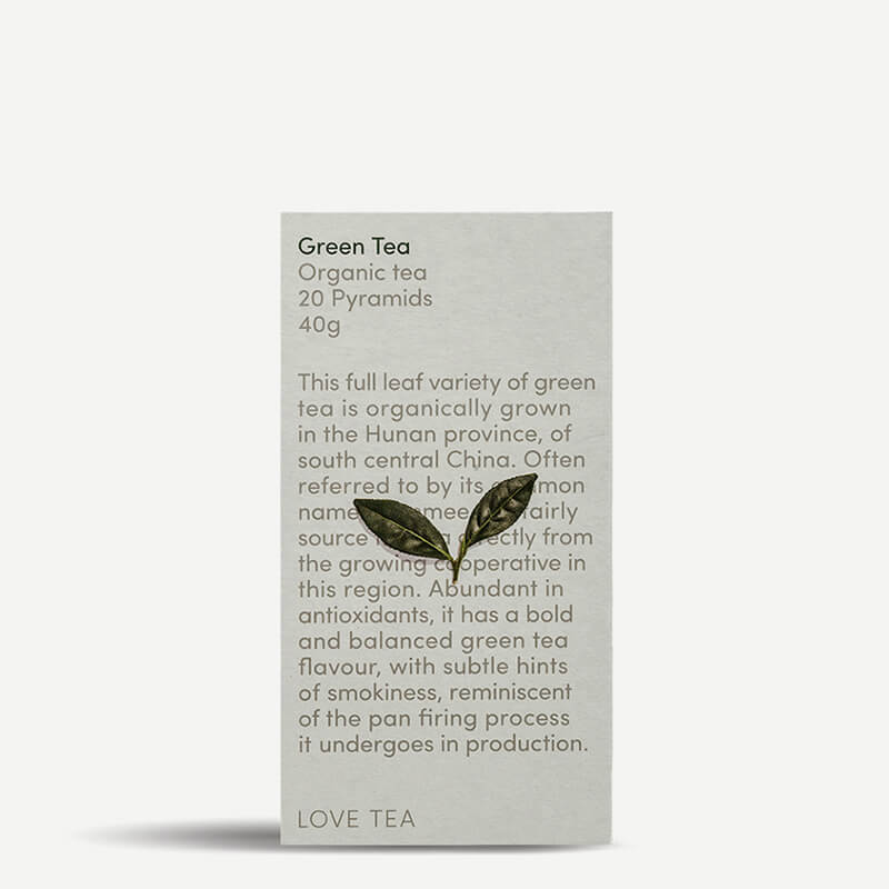 Love Tea Green Tea Pyramids - Natural Supply Co