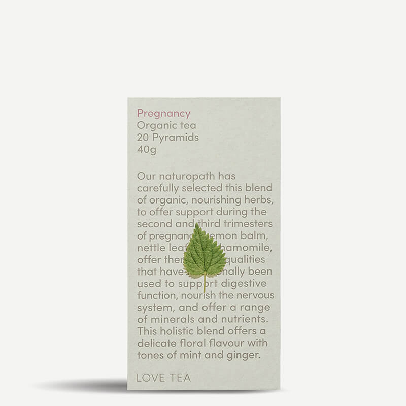 Love Tea Pregnancy Tea Pyramids - Natural Supply Co