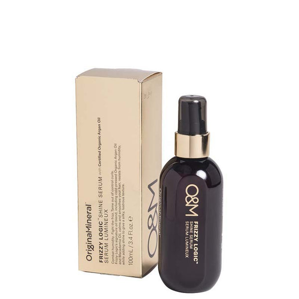 O&M Frizzy Logic Finishing Shine Spray online at Natural Supply Co