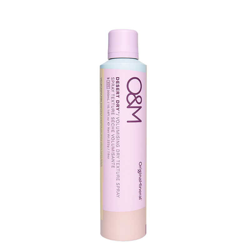 O&M Original Mineral Desert Dry Volumising Dry Texture Spray - Natural Supply Co