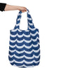 Project Ten Recycled Nylon Fold Up Shopper - Wave