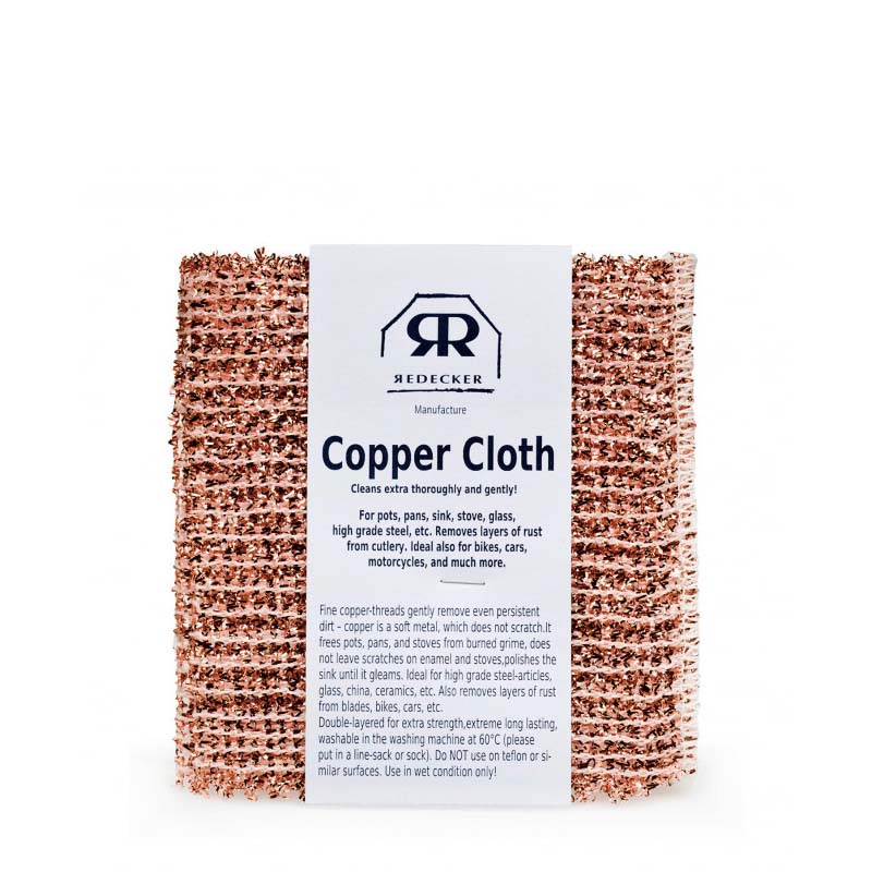 Redecker Copper Cloth - set of 2 - Natural Supply Co