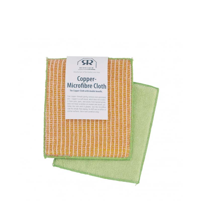 Redecker Copper Microfibre Cloth - Natural Supply Co