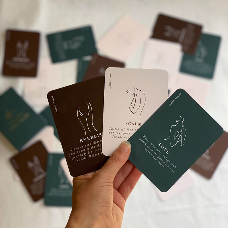 Retreat Society Self Care Cards