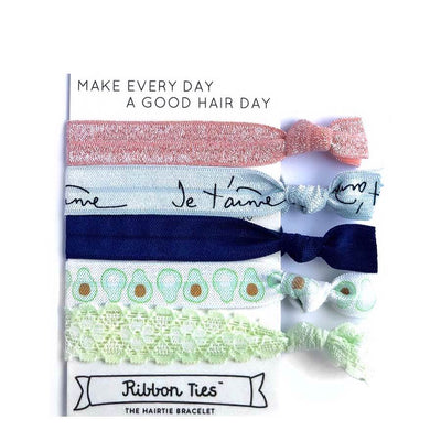 Ribbon Ties bracelet hair ties at Natural Supply Co