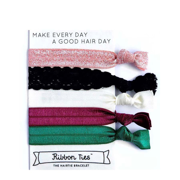 RibbonTies bracelet hair ties at Natural Supply Co