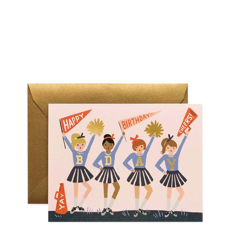 Rifle Paper Co Birthday Cheer Card