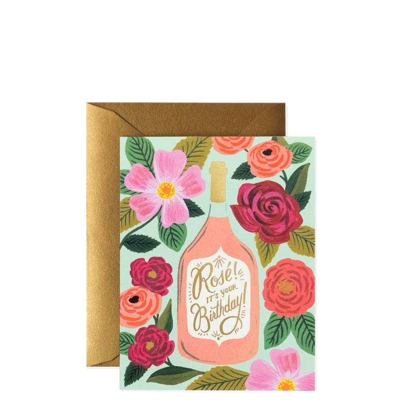 Rifle Paper Co Rosé It's Your Birthday Card