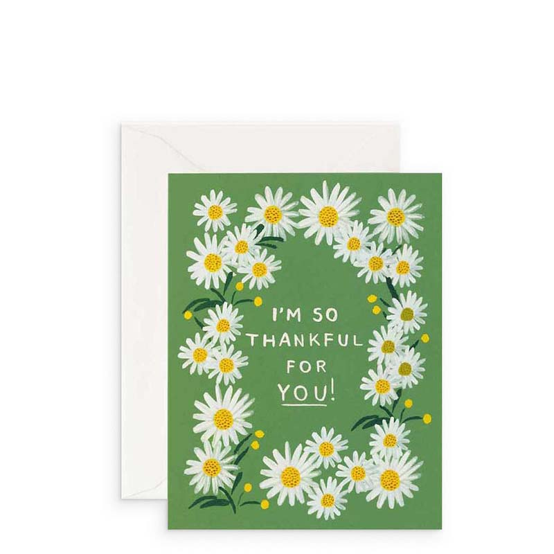 Rifle Paper Co Thankful For You Card