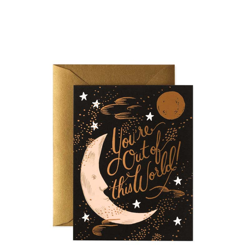 Rifle Paper Co You're Out of This World! Card