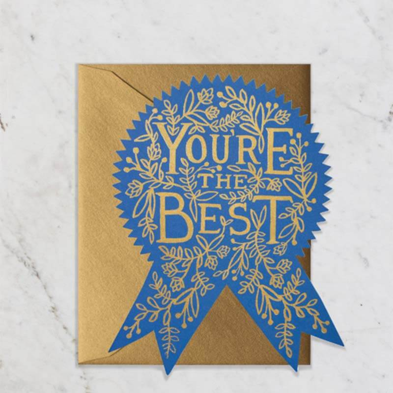 Rifle Paper Co You're the Best! Card