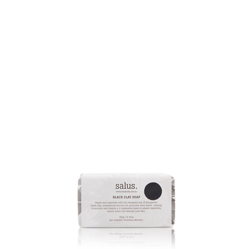 Salus Black Clay Soap - Natural Supply Co