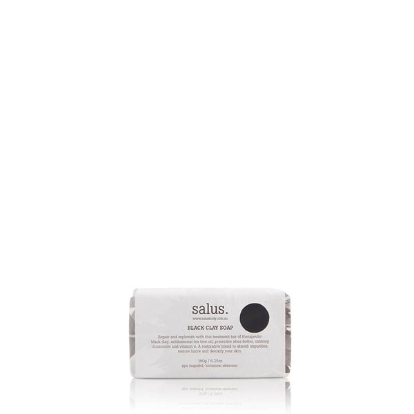 Salus Black Clay Soap online at Natural Supply Co