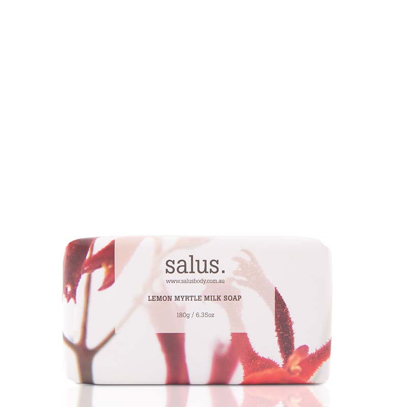Salus Lemon Myrtle Milk Soap online at Natural Supply Co