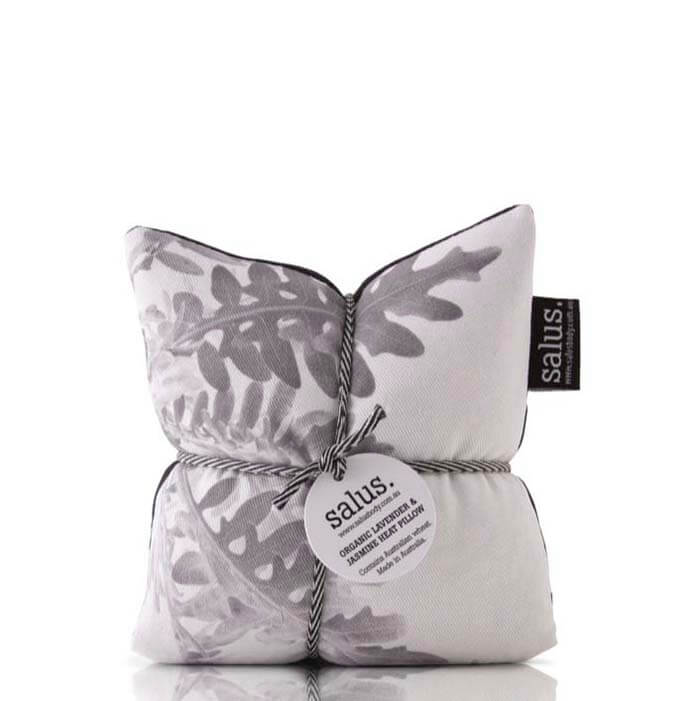 Salus Organic Lavender & Jasmine Heat Pillow - Grey Botanical - Natural Supply Co