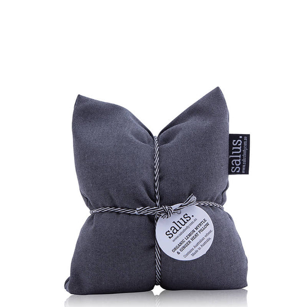 Salus Organic Lemon Myrtle & Ginger Heat Pillow - Grey online at Natural Supply Co