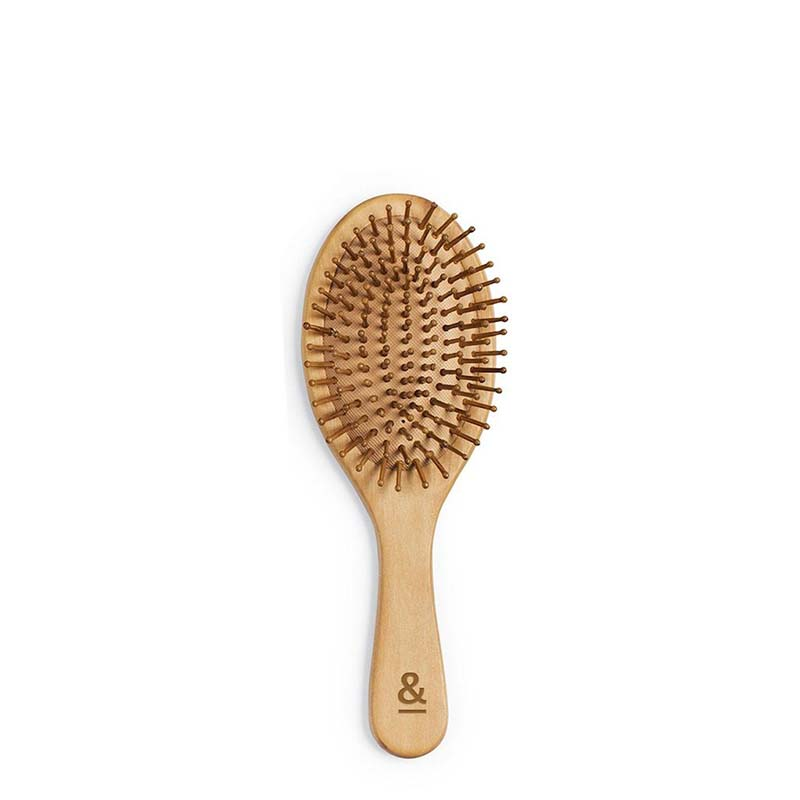Seed & Sprout Wooden Hair Brush