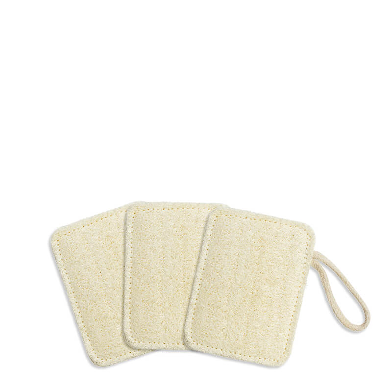 Seed & Sprout Compostable Kitchen Loofahs - Set of 3