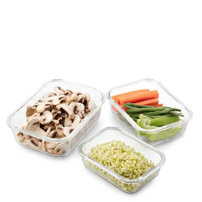 Seed & Sprout Eco Stow Glass Container Set - Natural Supply Co