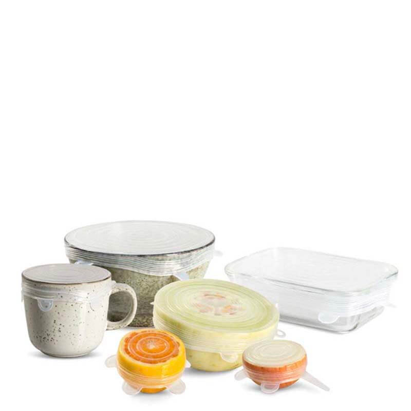 Seed & Sprout Reusable Stretch Lids Set - Natural Supply Co