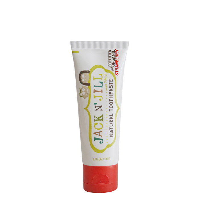 Jack N' Jill Natural Kids' Toothpaste - Strawberry - Natural Supply Co