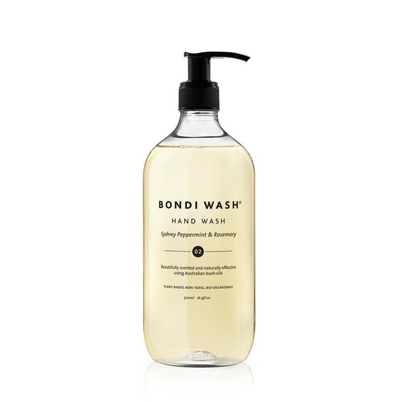 Bondi Wash Sydney Peppermint & Rosemary Hand Wash 500ml - Natural Supply Co