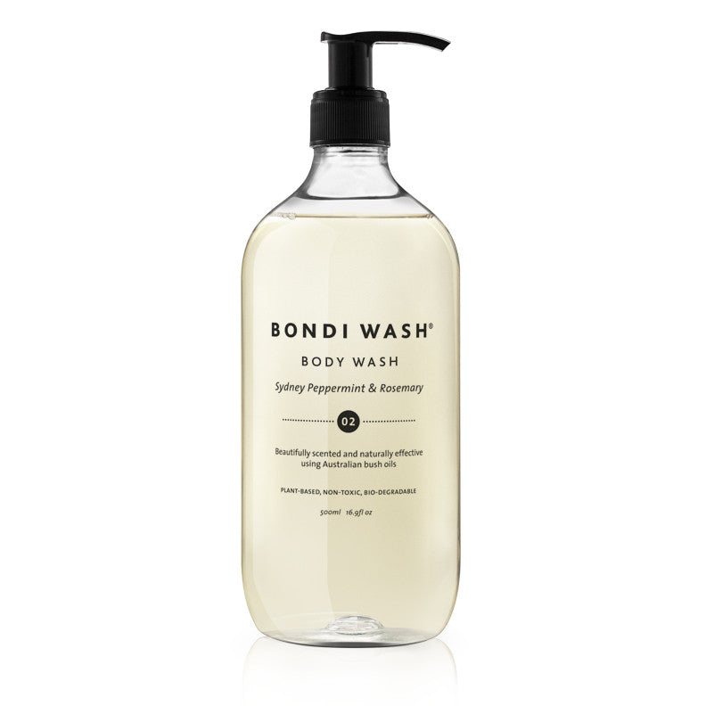 Bondi Wash Sydney Peppermint & Rosemary Body Wash - Natural Supply Co