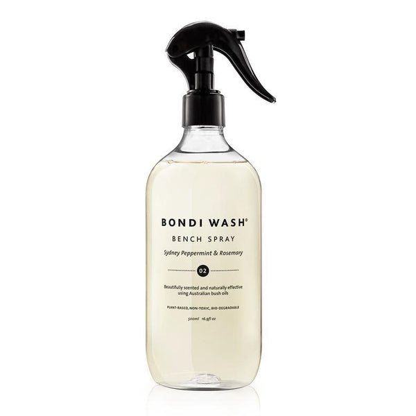 Bondi Wash Sydney Peppermint & Rosemary Bench Spray online at Natural Supply Co