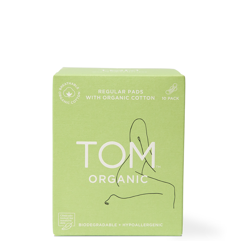 TOM Organic Regular Ultra Thin Pads - Natural Supply Co