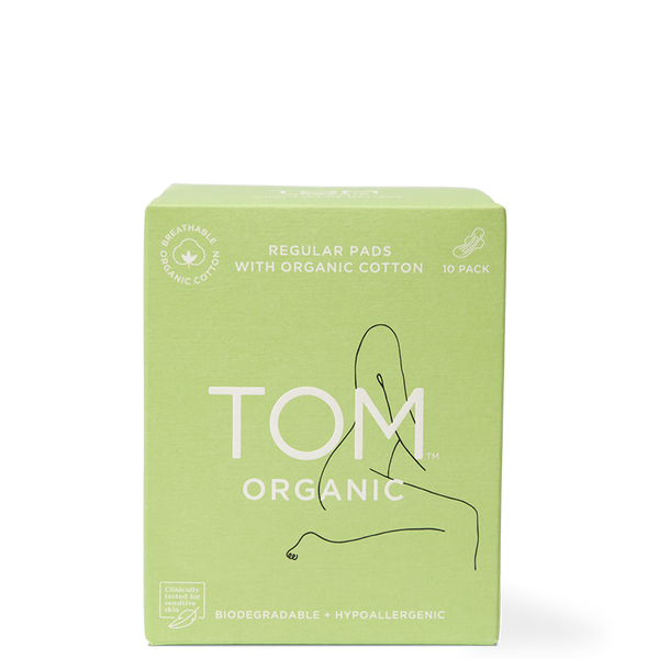 TOM Organic Regular Ultra Thin Pads at Natural Supply Co