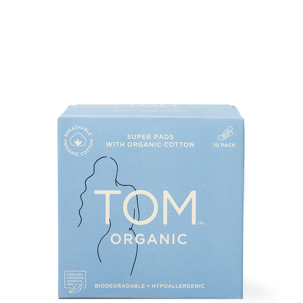 TOM Organic Super Ultra Thin Pads at Natural Supply Co