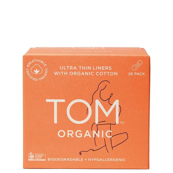 TOM Organic Ultra Thin Liners at Natural Supply Co