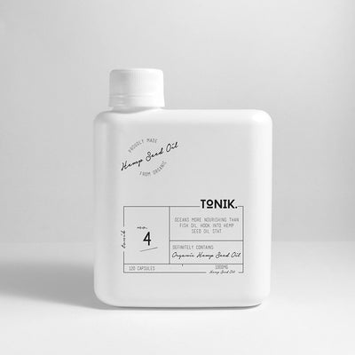 TONIK No.4 Organic Hemp Seed Oil Capsules online at Natural Supply Co