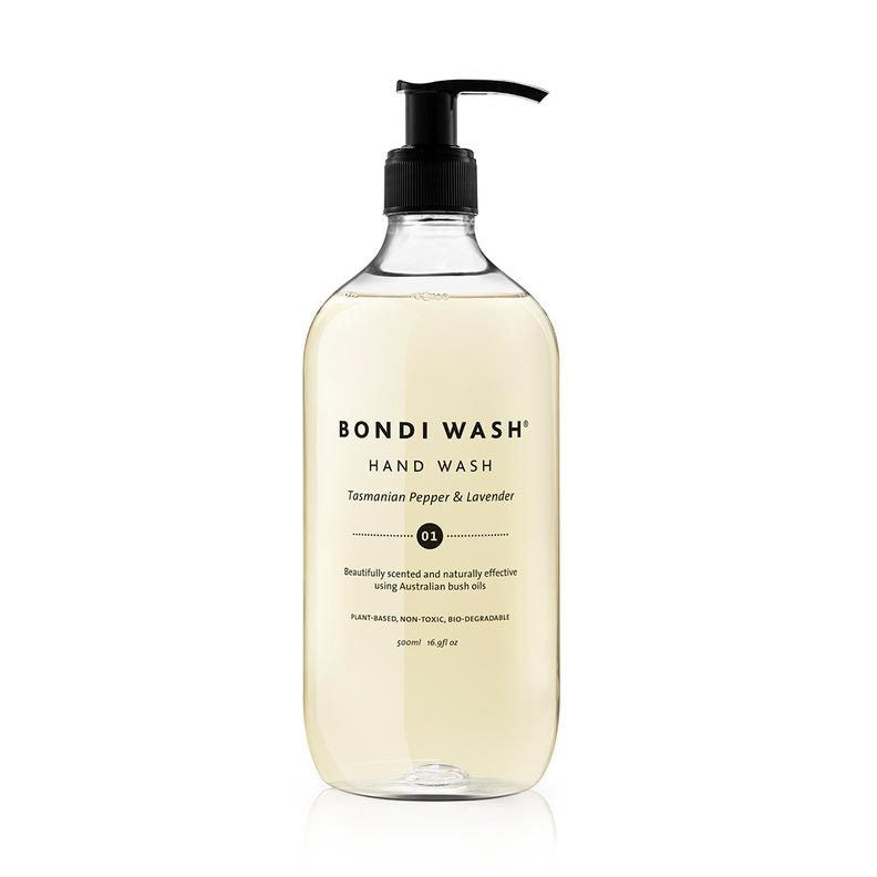 Bondi Wash Tasmanian Pepper & Lavender Hand Wash 500ml - Natural Supply Co