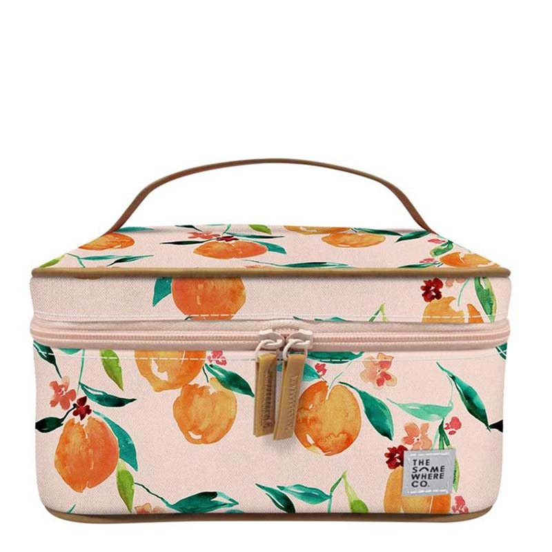 The Somewhere Co Cosmetic Case - Orange Blossom
