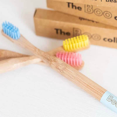 The Boo Collective Bamboo Toothbrush - Kids - Natural Supply Co
