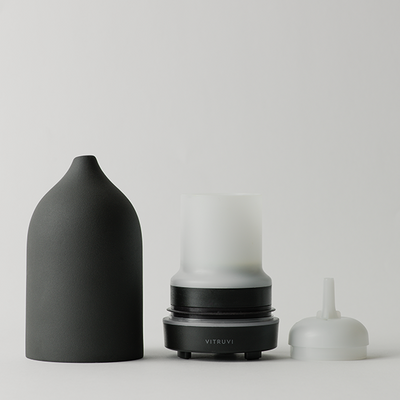 VITRUVI Stone Diffuser - Black - Natural Supply Co