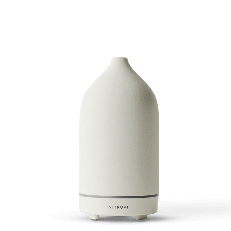 VITRUVI Stone Diffuser - White - Natural Supply Co