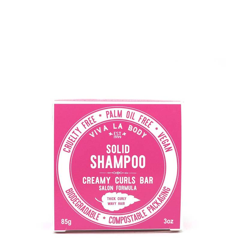 Viva La Body Creamy Curls Bar Solid Shampoo