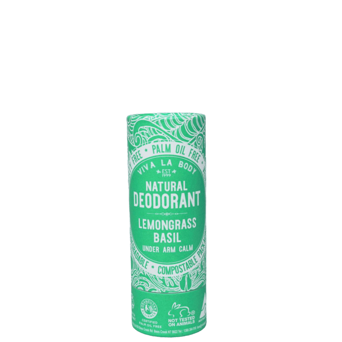 Viva La Body Natural Deodorant Stick - Basil Lemongrass