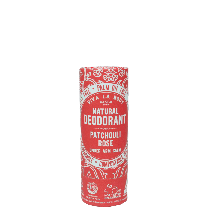 Viva La Body Natural Deodorant Stick - Patchouli Rose