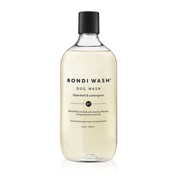 Bondi Wash Paperbark & Lemongrass Dog Wash at Natural Supply Co