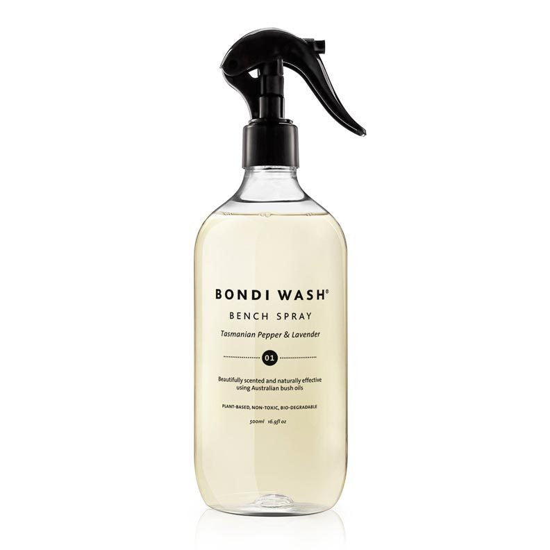 Bondi Wash Tasmanian Pepper & Lavender Bench Spray at Natural Supply Co