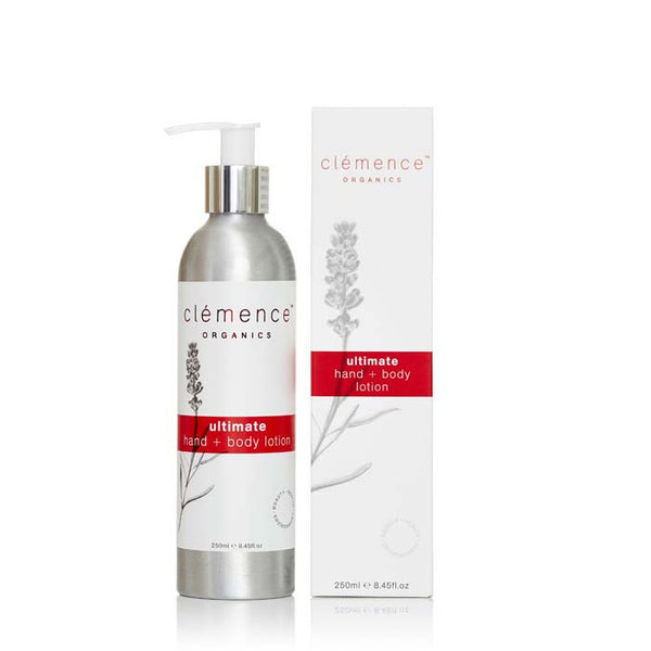 Clemence Organics Ultimate Hand & Body Lotion at Natural Supply Co