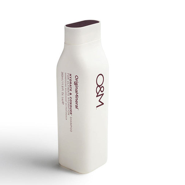 O&M Hydrate & Conquer Shampoo - 350ml at Natural Supply Co